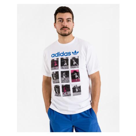 adidas Originals Vintage Sport Card T-shirt White