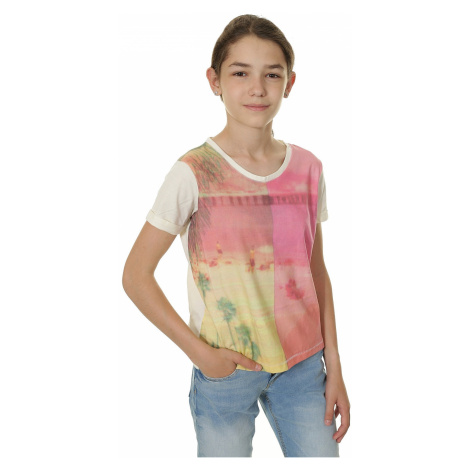 T-Shirt Roxy Rolly Dolly Two Worlds - WCD0/Sand Piper