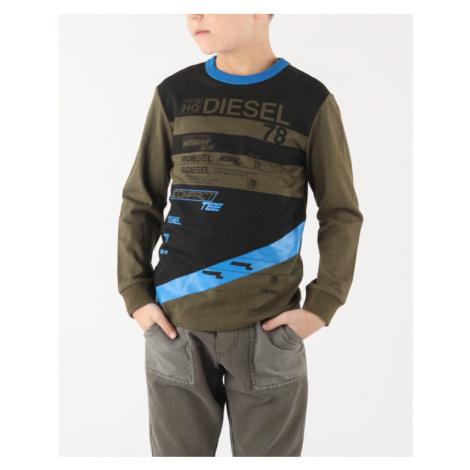 Diesel Tebre Kids T-shirt Blue Green