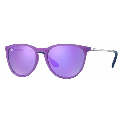 Ray-Ban Izzy Unisex Sunglasses Lenses: Violet, Frame: Silver - RJ9060S 70084V 50-15