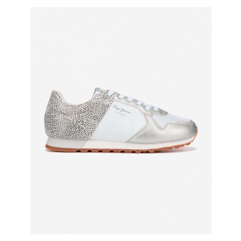Pepe Jeans Verona Sneakers White Silver