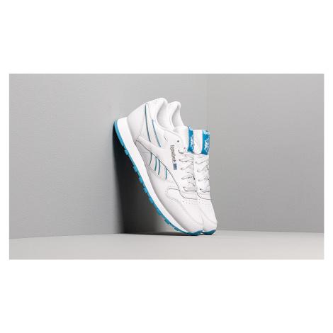 Reebok Cl Lthr Porcelain/ Cyan/ White
