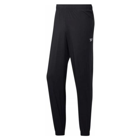 Reebok TE WVN C LINED PANT black - Men's pants