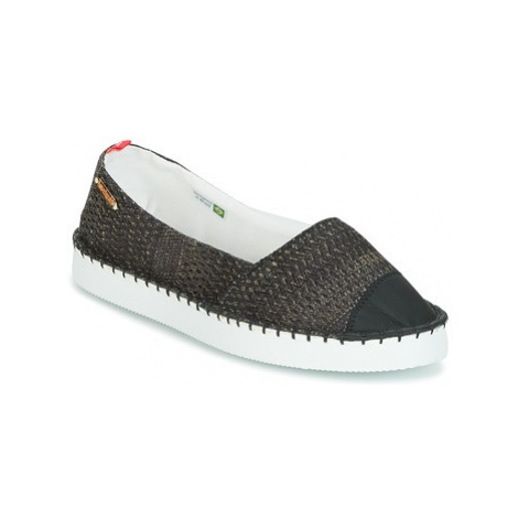 Havaianas ORIGINE FLATFORM UP women's Espadrilles / Casual Shoes in Black