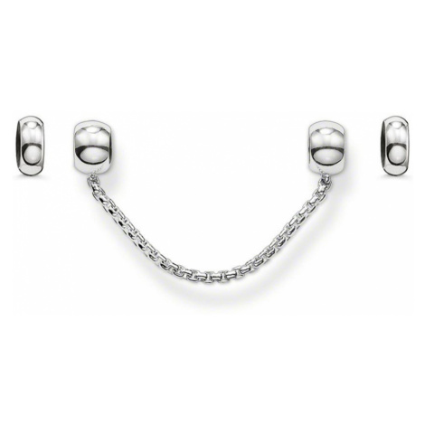 THOMAS SABO Karma Bead Stopper and Safety Chain Set