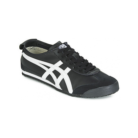 Onitsuka Tiger MEXICO 66 LEATHER women's Shoes (Trainers) in Black