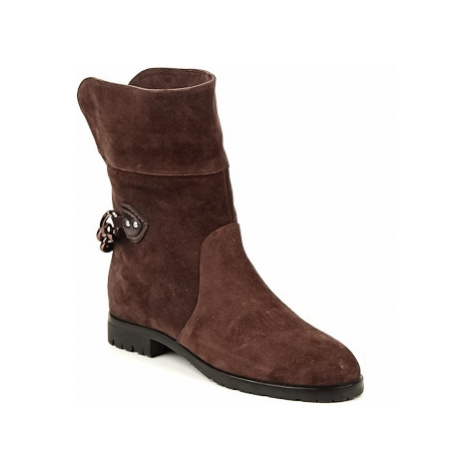 Marc Jacobs CHAIN BOOTS women's Mid Boots in Brown
