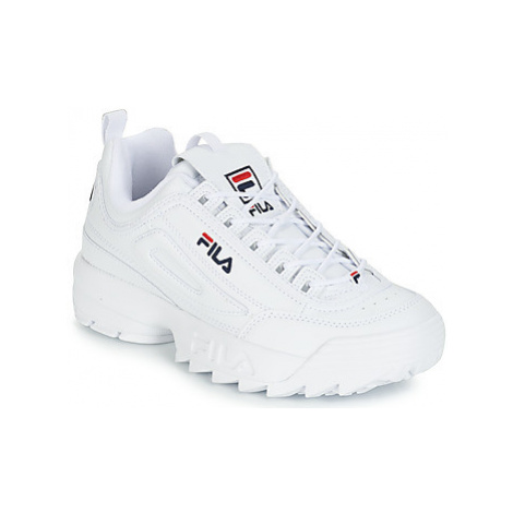 Fila DISRUPTOR LOW men's Shoes (Trainers) in White