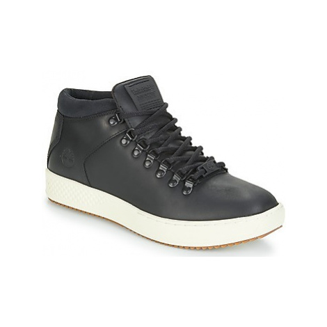 Timberland CityRoam Cup Alpine Chk men's Shoes (High-top Trainers) in Black