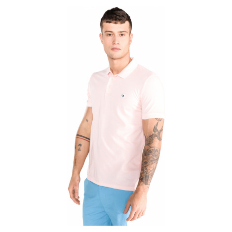 Calvin Klein Polo Shirt Pink