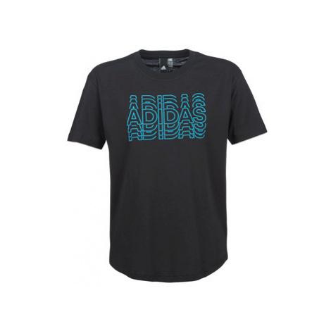 Adidas HADOS women's T shirt in Black