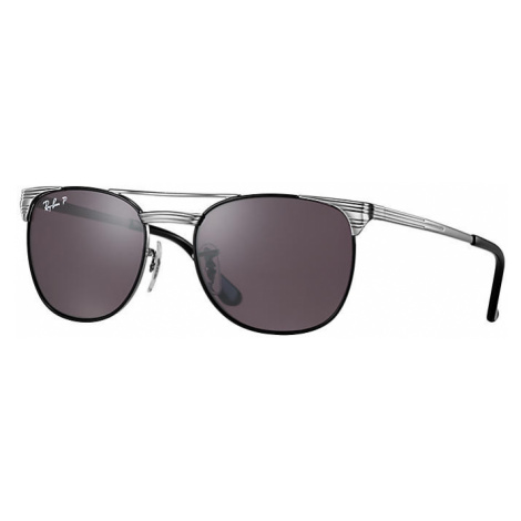 Ray Ban Signet junior Unisex Sunglasses Lenses: Violet Polarized, Frame: Gunmetal - RJ9540S 259/