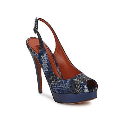 Missoni VM033 women's Sandals in Blue