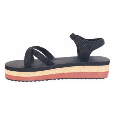 O'Neill FW BATIDA PLATFORM SANDALS black - Women's sandals