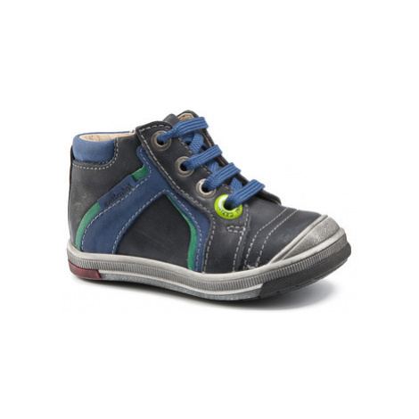 Catimini BALOO boys's Children's Shoes (High-top Trainers) in Blue