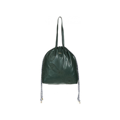 Desigual DARK AMBER TALLIN women's Shopper bag in Green