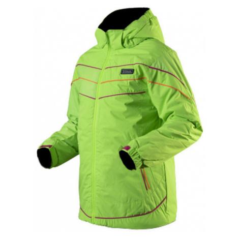 TRIMM RITA green - Girls' ski jacket