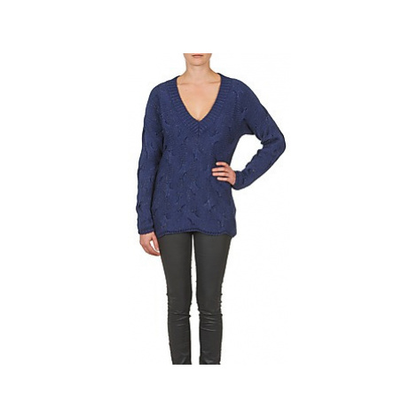Gas MARLHA women's Sweater in Blue