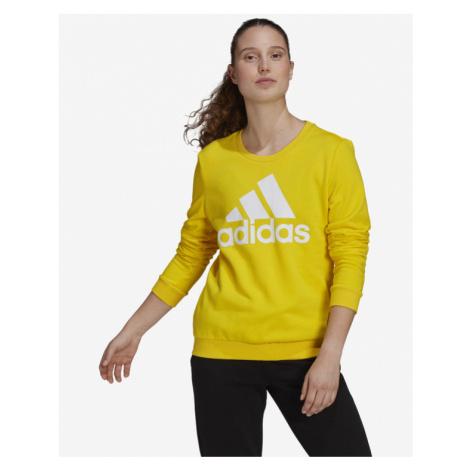 adidas Performance Big Logo Sweatshirt Yellow