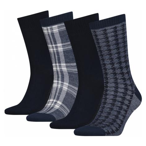Levi's Set of 4 pairs of socks Black Grey Levi´s