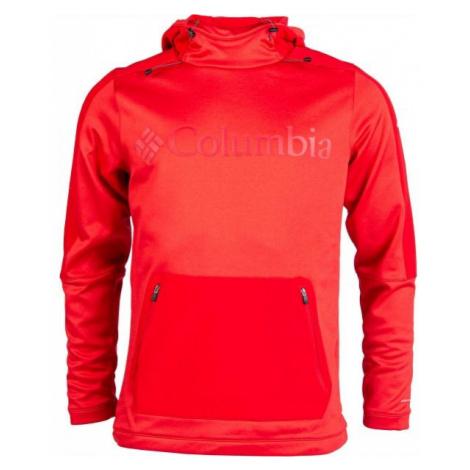 Columbia MAXTRAIL MIDLAYER TOP red - Men's outdoor sweatshirt