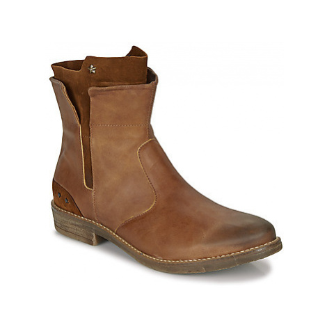 Ikks PAMELA girls's Children's Mid Boots in Brown