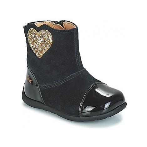 Geox B KAYTAN girls's Children's Mid Boots in Black