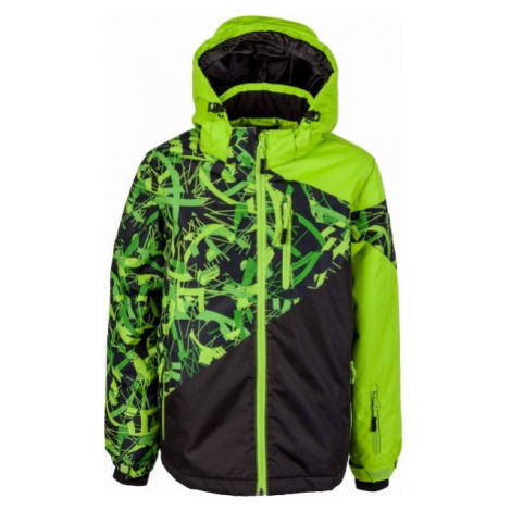 Lewro PHIL green - Boys' winter jacket