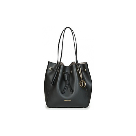 Moony Mood ICROUA women's Shoulder Bag in Black