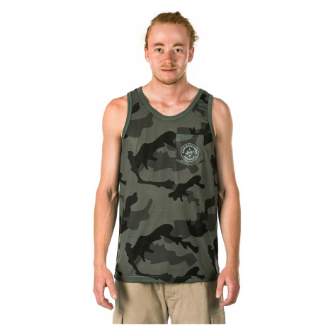 top Horsefeathers Five - Olive Camo