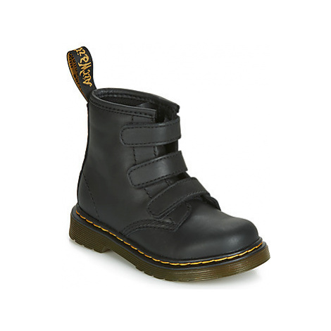 Dr Martens 1460 STRAP TODDLER girls's Children's Mid Boots in Black