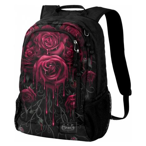 Spiral - Blood Rose - Backpack - black