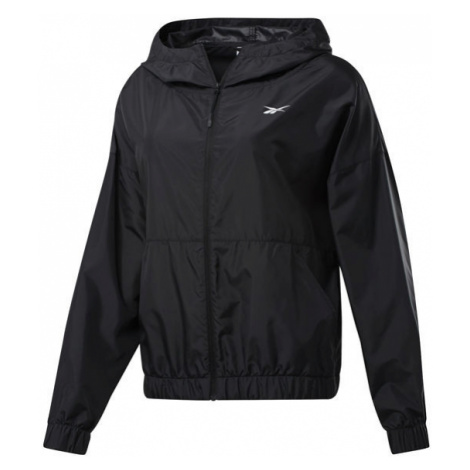Reebok TE LINEAR LOGO JACKET black - Training jacket