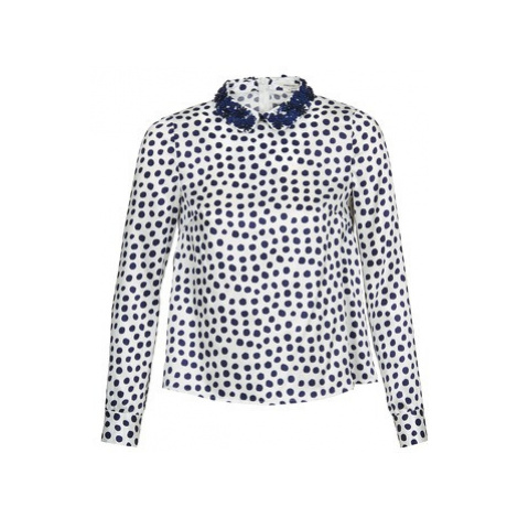 Manoush POIS women's Blouse in Blue