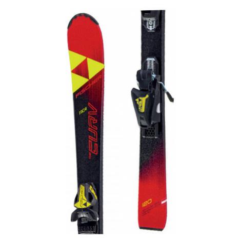Fischer THE CURV JR SLR + FJ4 AC RAIL - Kids' downhill skis