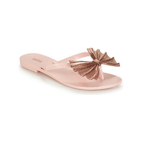Melissa HARMONIC BOW VI women's Flip flops / Sandals (Shoes) in Pink