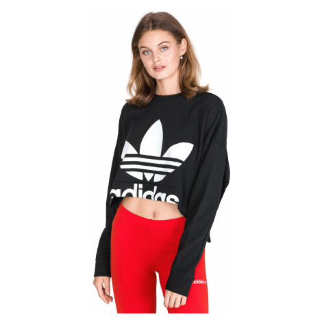 adidas Originals Back Cutout Sweatshirt Black