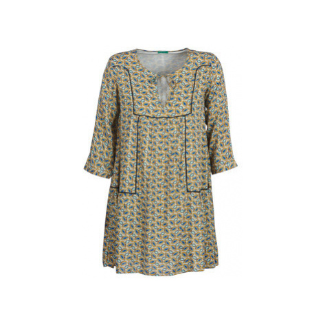 Benetton ROBY women's Dress in Grey United Colors of Benetton