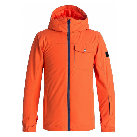 jacket Quiksilver Mission Solid - NMS0/Mandarin Red