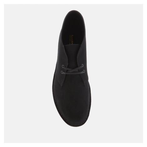 Clarks Men's Desert 2 Suede Boots - Black - UK