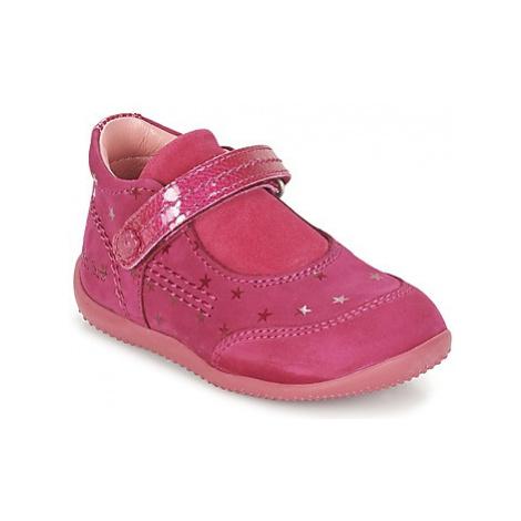 Kickers BINEXT girls's Children's Shoes (Pumps / Ballerinas) in Pink