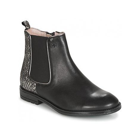 Acebo's SHAPANGA girls's Children's Mid Boots in Black