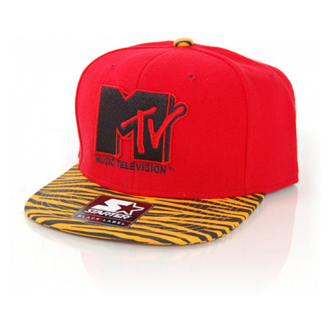 Starter MTV Retro Print SB Red Orange