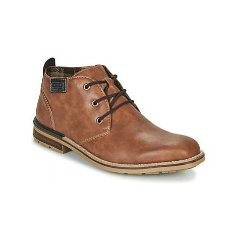 Rieker BELAM men's Mid Boots in Brown
