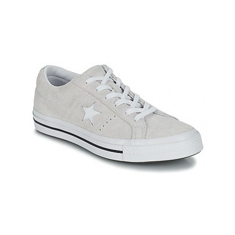Converse ONE STAR OX women's Shoes (Trainers) in White