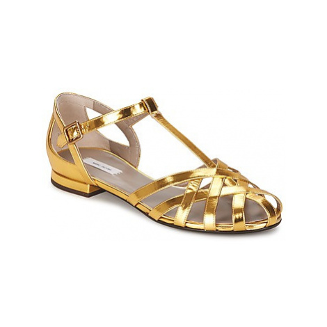 Marc Jacobs Tripon women's Sandals in Gold