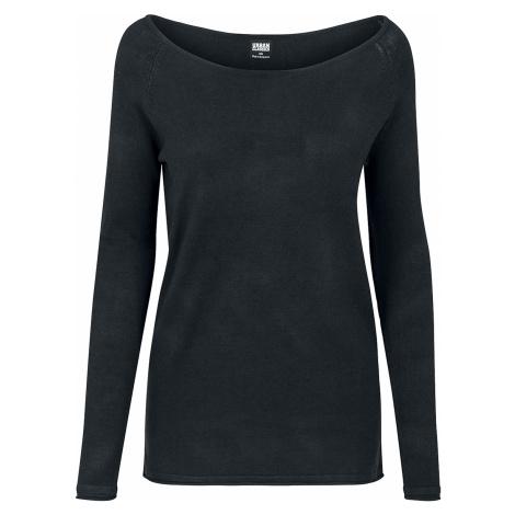 Urban Classics - Ladies Raglan Long Sweater - Girls sweatshirt - black