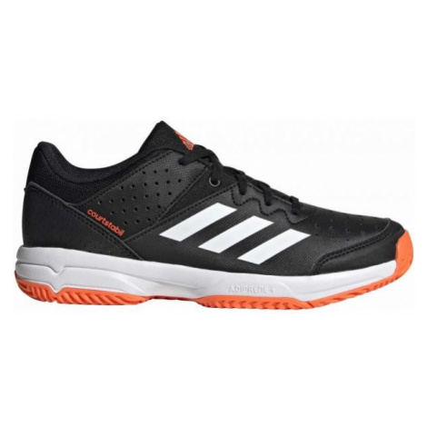 adidas COURT STABIL JR black - Children's handball shoes