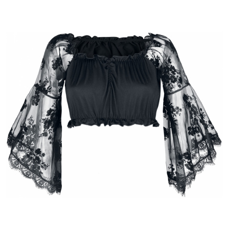 Ocultica - Gothic Top - Blouse - black