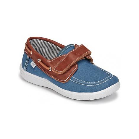 Citrouille et Compagnie GASCATO boys's Children's Boat Shoes in Blue